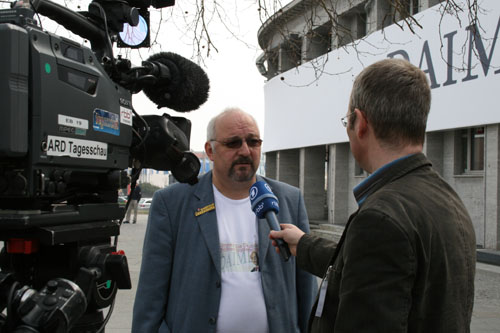 JG im TV-Interview